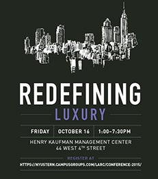 Luxury and Retail Conference 2015