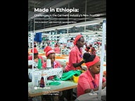 "Cover of ""Made in Ethiopia: Challenges in the Garment Industry's New Frontier"""