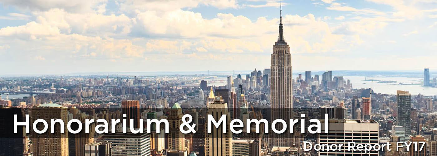 Honor & Memory