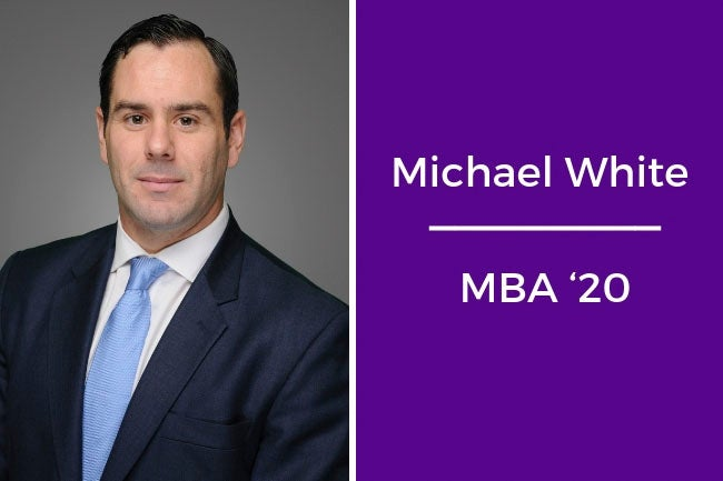 Michael White, MBA '20
