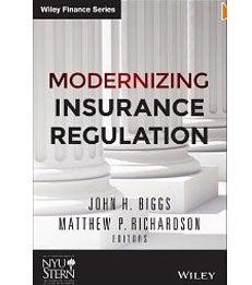 Cover of Modernizing Insurance Regulation