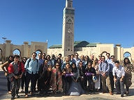 Group of MBA students in Morocco