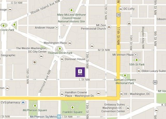EMBA_NYU DC_Map