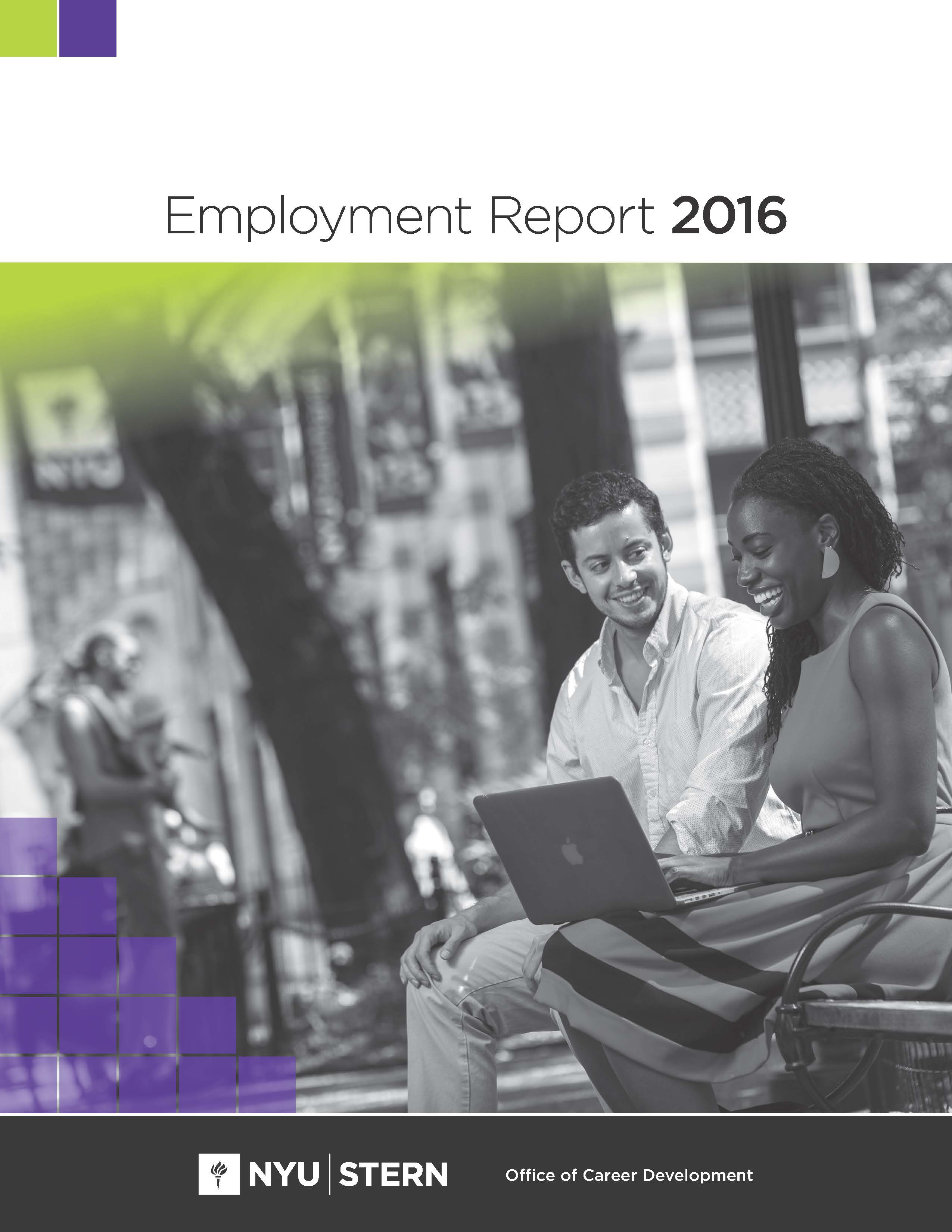 2016 Employment Report Cover
