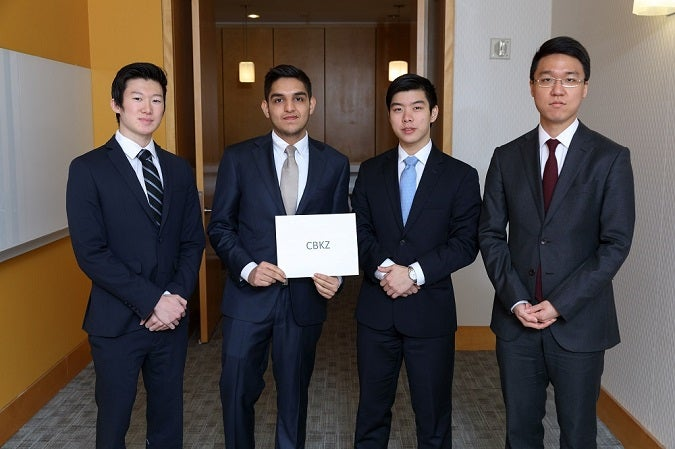 NYU Stern Undergraduates Participate at Cornell International Real Estate Case Competition