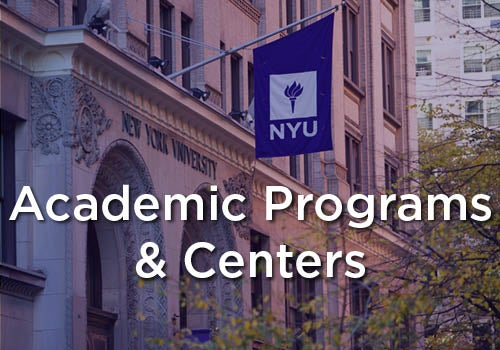 Partners & Programs - Academic Programs & Centers
