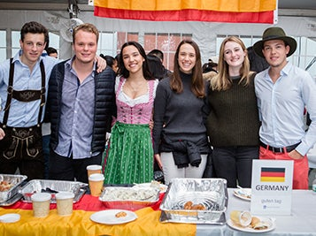 Germany table at Passport Day
