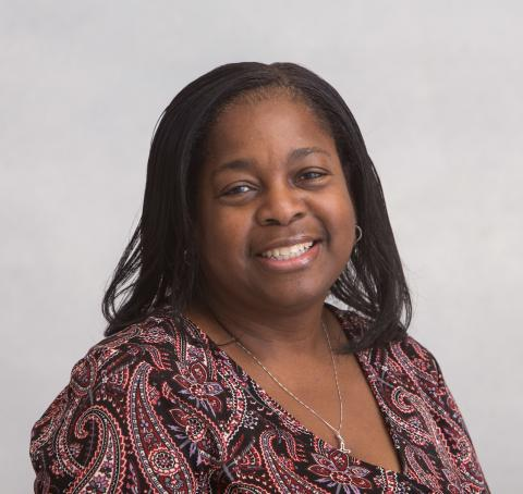 A headshot of Administrative Assistant, Patricia Miller