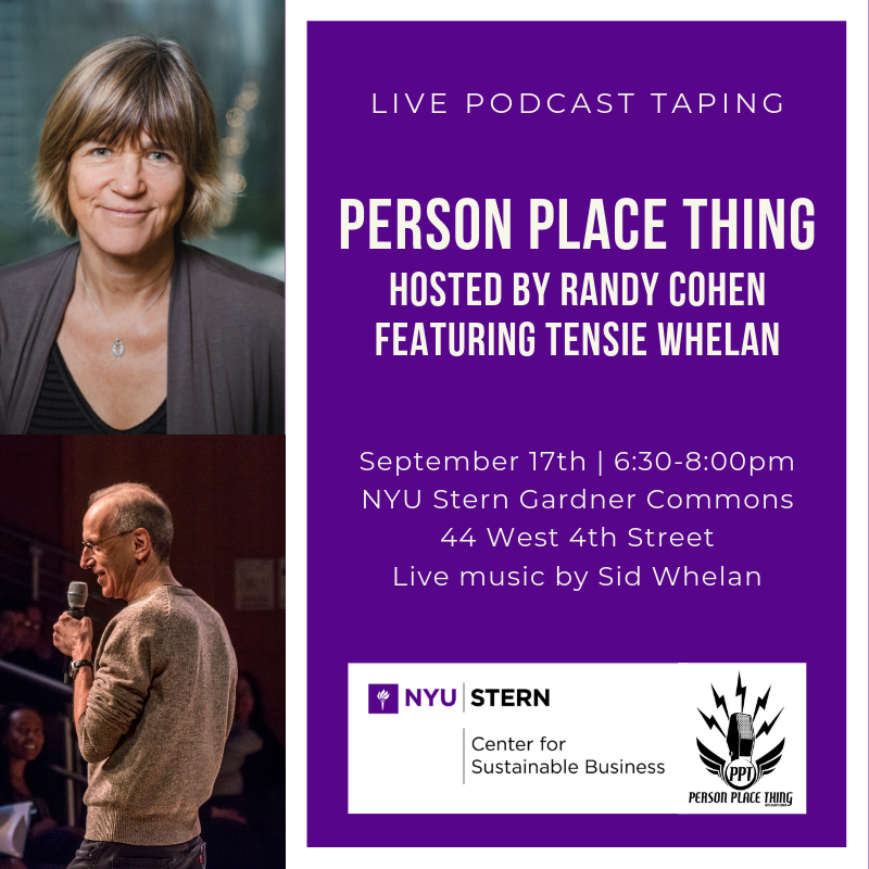 Person Place Thing with Randy Cohen Event Image