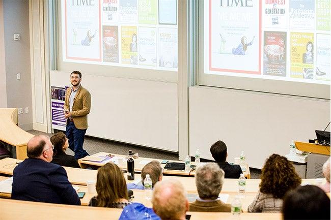 NYU Stern PhD student Stéphane Francioli