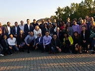 Group of MBA students in Prague