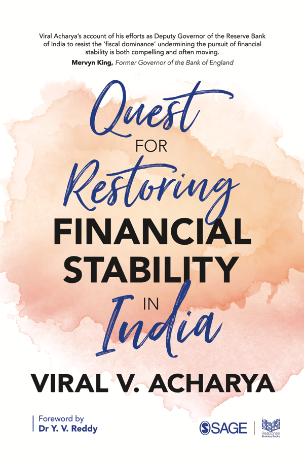 Cover of Quest for Restoring Financial Stability in India by Viral V. Acharya