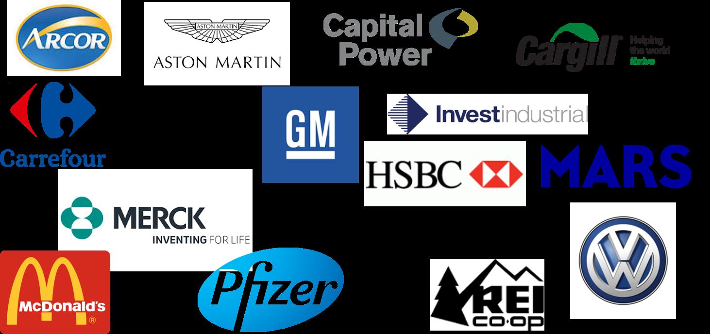 CSB ROSI Past Partner Logos