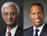 Raghu Sundaram and Mandell Crawley