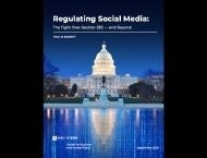 Regulating Social Media Report Cover