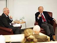 Professor Kim Schoenholtz and Dr. Henry Kaufman