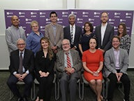 Stern Leadership and Faculty with MSRM Alumni Committee at the 10 Year Risk Symposium
