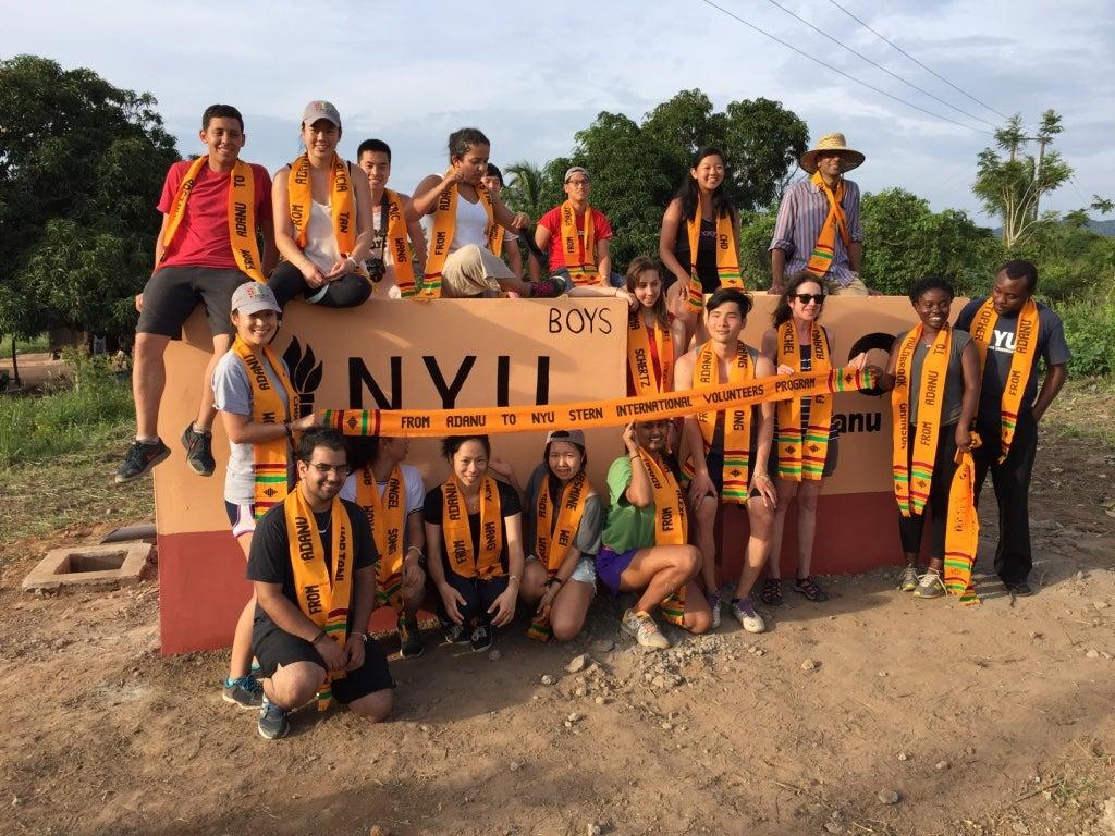 SIV Ghana Students 2015 in Waodze-Tsatoe