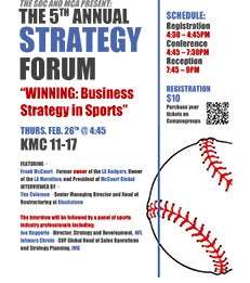 MCA and SOC 5th Annual Strategy Forum