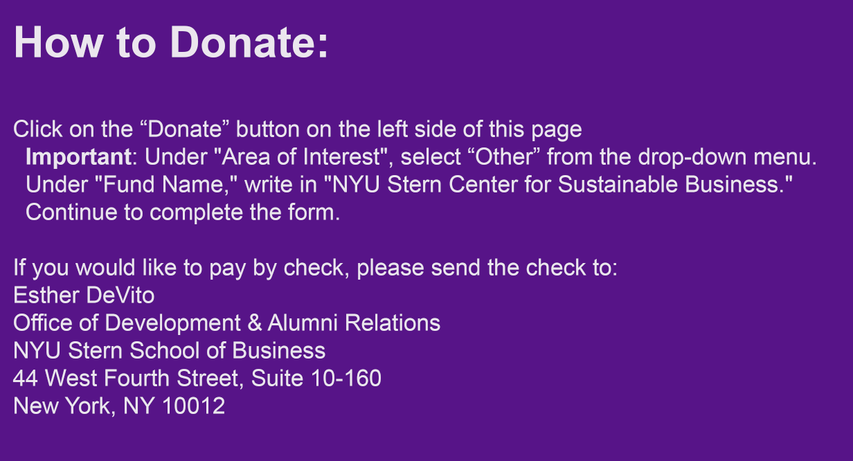 CSB Donation Instructions
