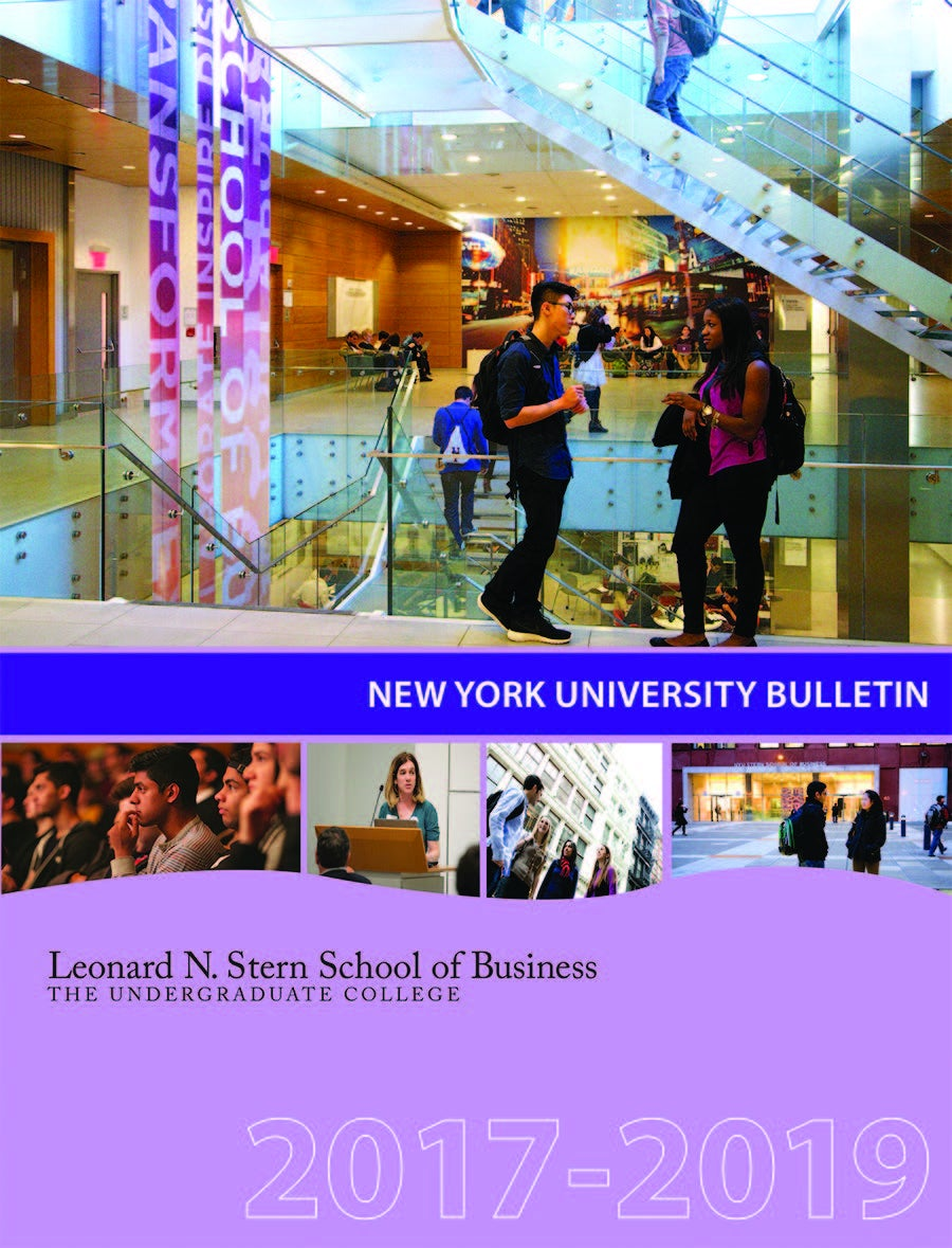 Image of NYU Bulletin