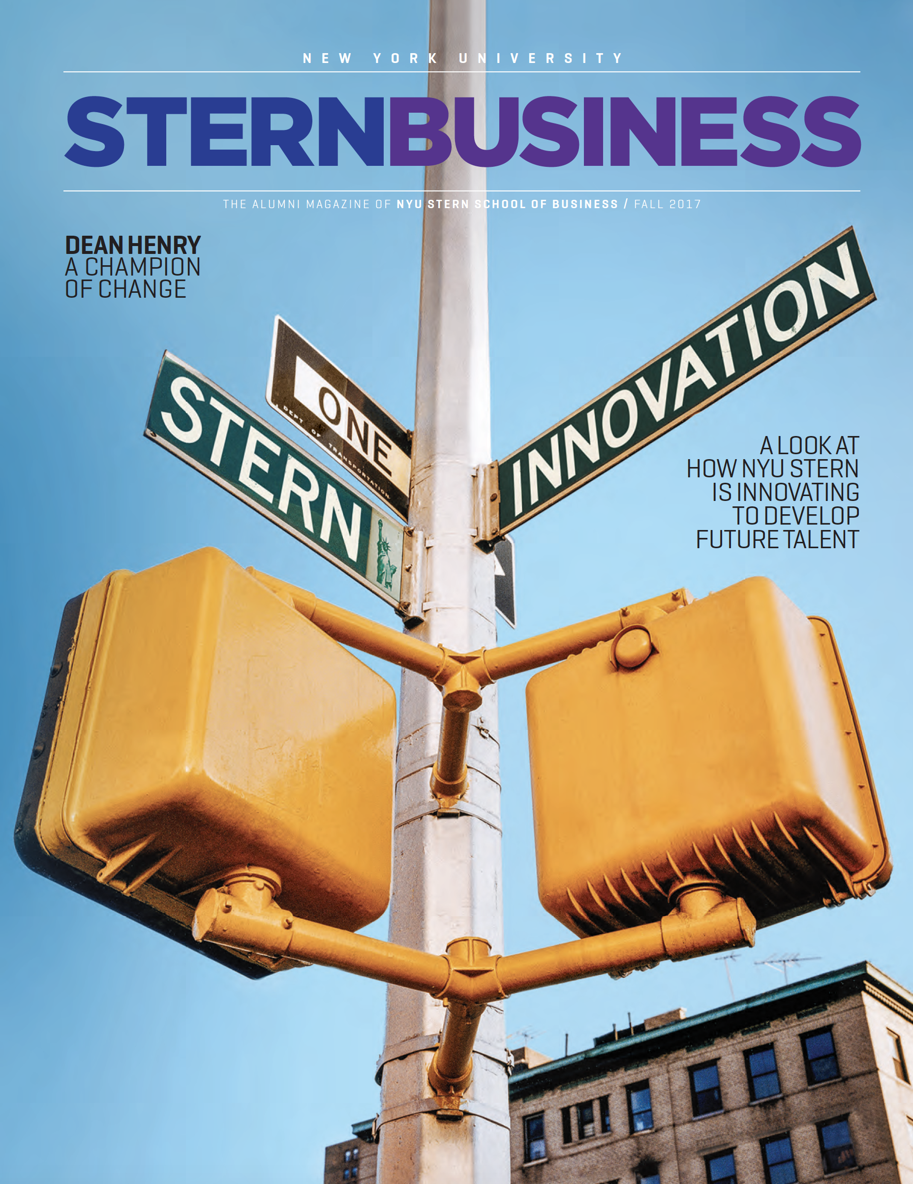 SternBusiness Magazine Fall 2017