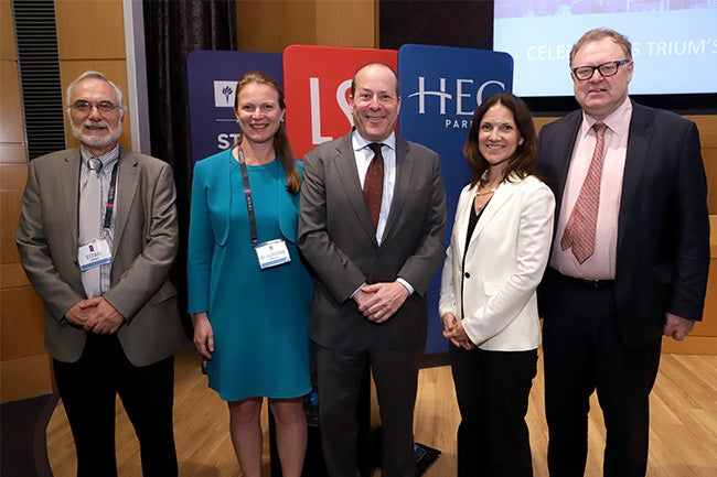(Left to right) Eitan Zemel, Christine Baldy, Marc Porter, Elizabeth O'Neill, David Webb