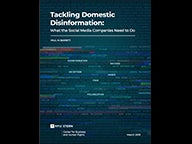 Tackling Domestic Disinformation