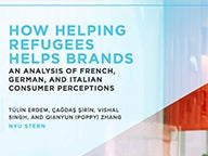 Cover of How Helping Refugees Helps Brands: Europe report