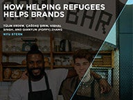 Cover of the How Helping Refugees Helps Brands Report
