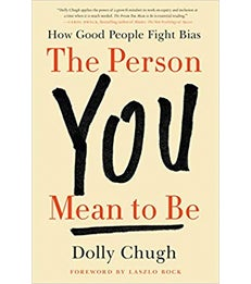 """Book cover of """"The Person You Mean To Be"""""""