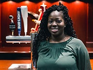 2016 graduates chat about their time at NYU Stern Undergraduate College and their current careers, including alum Britany Rougier, who now works at Anheuser-Busch Inbev