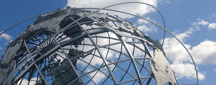 The Unisphere, Flushing Meadows-Corona Park, Queens, New York