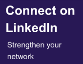 connect on linked in more spacing