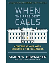 "Book cover of ""When the President Calls"""