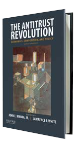 The Antitrust Revolution - Lawrence J. White - book cover