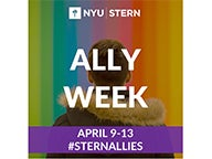 Ally Week promotional sign