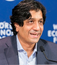 Arun Sundararajan WEF 2015