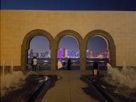 Qatar at night