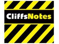 Cliffs Notes logo