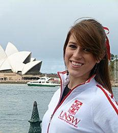 Undergraduate student Alejandra Preciat blogs from her semester abroad in Sydney