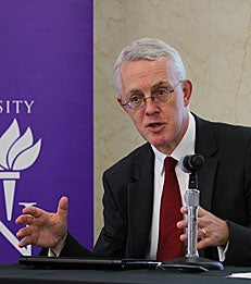 Sir John Vickers discusses the Vickers Report at NYU Stern