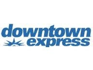 downtown express logo feature