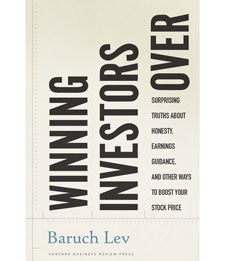 Baruch Lev Winning Investors Over