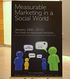 "2012 ""Measurable Marketing in a Social World"" Conference"