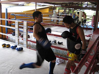 boxing: student blogger hong kong