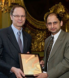 Prof. Viral Acharya Awarded the Banque de France-Toulouse Junior Prize