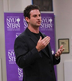 Google Idea's Jared Cohen speaks to Stern MBA students