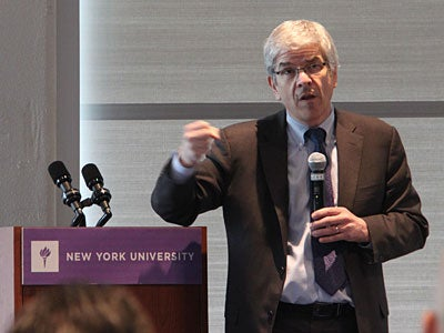 Professor Paul Romer Discusses Charter Cities With Octavio Sanchez of Honduras