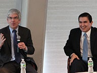 Professor Paul Romer Discusses Charter Cities With Octavio Sanchez of Honduras